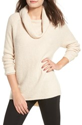 Dreamers By Debut Cowl Neck Sweater Ivory