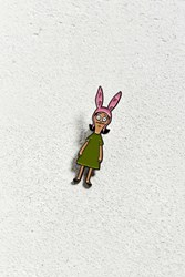 Urban Outfitters Bob's Burgers Louise Pin Green