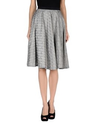 Alice San Diego 3 4 Length Skirts Grey
