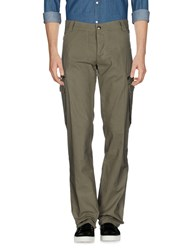 Husky Casual Pants Military Green