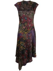 Josie Natori Jacquard Print Dress 60