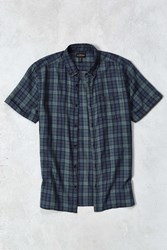 Cpo Wyatt Plaid Short Sleeve Button Down Shirt Green