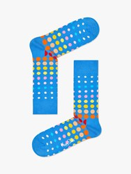 Happy Socks Faded Dot One Size Blue