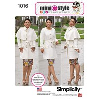 Simplicity Women's Coat Sewing Pattern From Mimi G 1016