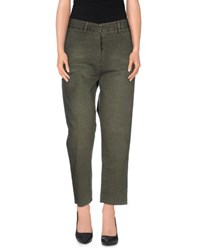 People Trousers Casual Trousers Women Military Green