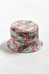 Urban Outfitters Budweiser Bucket Hat Red