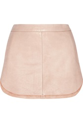 Mason By Michelle Mason Textured Leather Mini Skirt