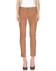 M.Grifoni Denim Trousers Casual Trousers Women Brown
