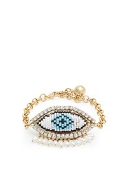 Shourouk Evil Eye Bracelet Gold