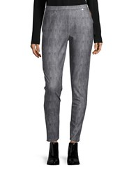 Michael Michael Kors Plus Classic Wash Denim Leggings Grey