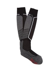 Falke Ess Sk4 Wool Blend Ski Socks Black
