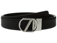Z Zegna Adjustable Reversible Gwintf 35Mm Belt Black