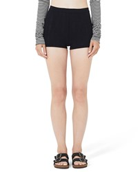 Marc Jacobs Stretch Pointelle Boyshorts Black