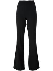 Theory Classic Flared Trousers Black