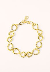 Missguided Gold Chain Link Choker