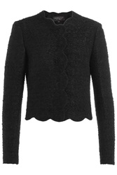 Giambattista Valli Boucle Jacket Black