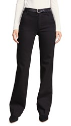 James Jeans Jhene Trouser Flat Black