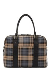 Bueno Of California Travel Plaid Duffle Multi