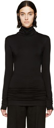 Denis Gagnon Black Stretch Jersey Turtleneck