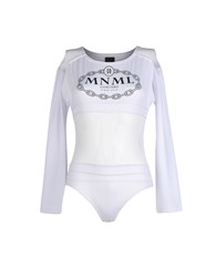 Mnml Couture Topwear T Shirts Women White