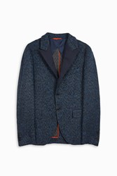 Missoni Men S Xtra Lk Woven Suit Jacket Boutique1 Blue