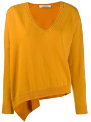 Dorothee Schumacher V Neck Jumper Yellow
