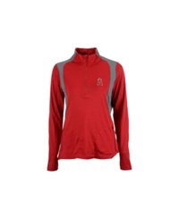 Antigua Women's Los Angeles Angels Of Anaheim Delta Pullover Red