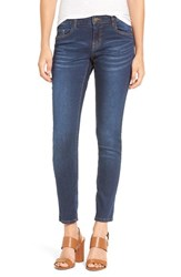 Women's Bp. Mid Rise Skinny Jeans Classic Blue