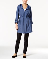 Styleandco. Style Co. Hooded Rain Coat Only At Macy's Check That Blue