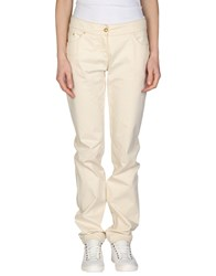 Roberta Scarpa Trousers Casual Trousers Women Ivory