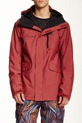 Quiksilver Craft Jacket Red