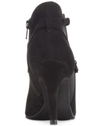 Styleandco. Style Co. Zoey Strappy Booties Only At Macy's Women's Shoes Black