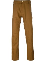 Carhartt Straight Trousers Brown