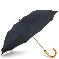London Undercover Whangee Telescopic Umbrella Blue