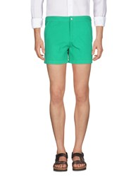 Band Of Outsiders Shorts Green