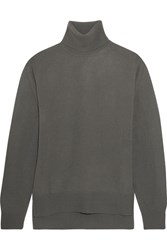 Christophe Lemaire Cashmere Turtleneck Sweater Gray