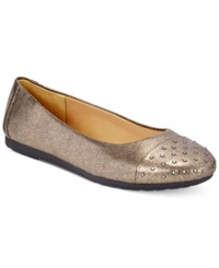 Easy Spirit Adriana Flats Women's Shoes Pewter