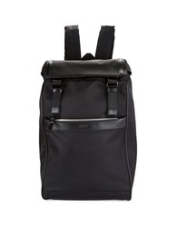 Hugo Boss Nylon Backpack Black
