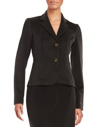 Calvin Klein Two Button Blazer Black