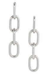 Alexander Wang Women's Linear Drop Earrings