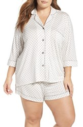 Pj Salvage Plus Size Women's Short Pajamas