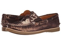 Sperry Gold Cup A O Boat Novelty Bronze Women's Lace Up Casual Shoes
