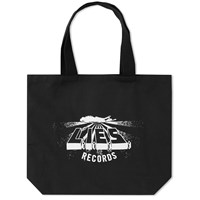 L.I.E.S. Records Logo Tote Bag Black