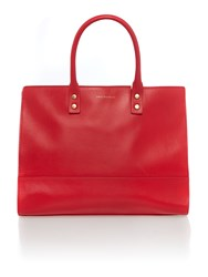 Lulu Guinness Daphne Red Large Tote Bag Red