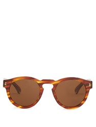 Illesteva Leonard Sunglasses Brown Multi