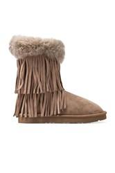 Koolaburra Haley Ii Boots With Twinface Sheepskin Taupe