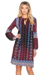 Clover Canyon Embroidered Ombre Dress