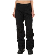 686 Authentic Standard Pant Black Diamond Dobby Women's Outerwear