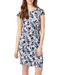 Phase Eight Pansy Floral Print Silk Blend Dress Multi