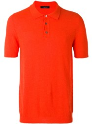 Roberto Collina Classic Polo Shirt Red